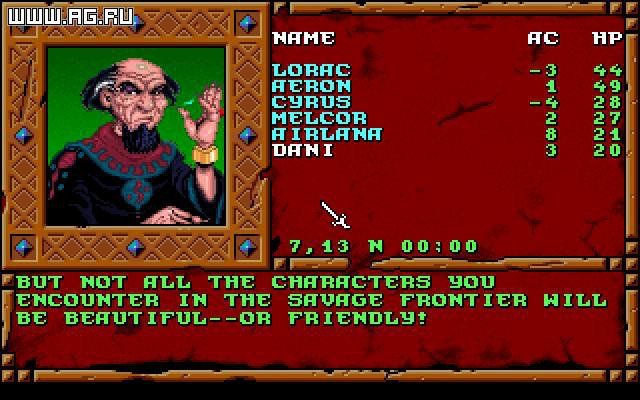 games similar to Treasures of the Savage Frontier
