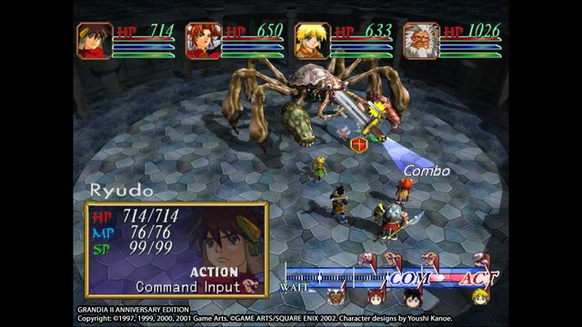 games similar to Grandia II Anniversary Edition