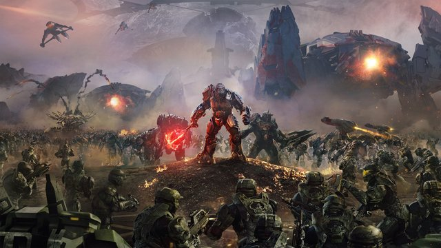 games similar to Halo Wars 2