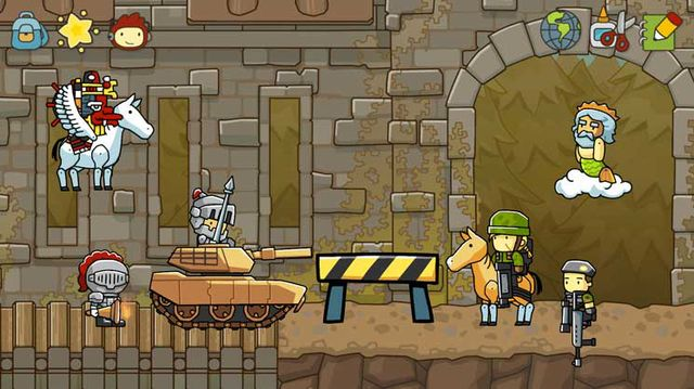 games similar to Scribblenauts Unlimited