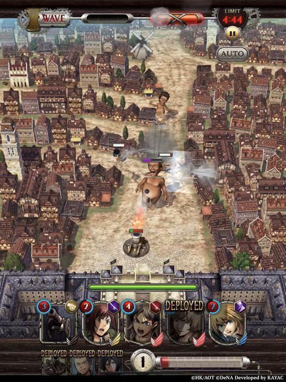 games similar to Attack on Titan TACTICS