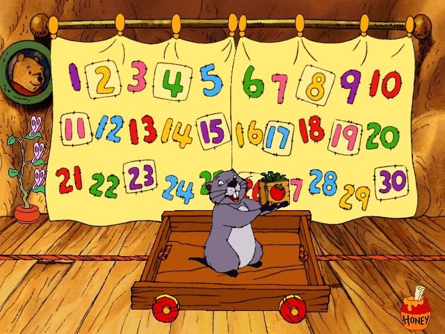 games similar to Ready for Math with Pooh