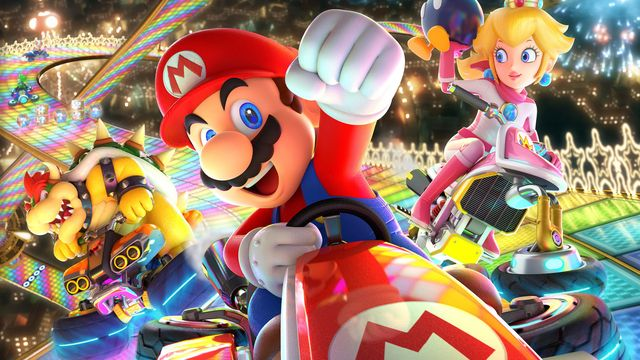 games similar to Mario Kart 8 Deluxe