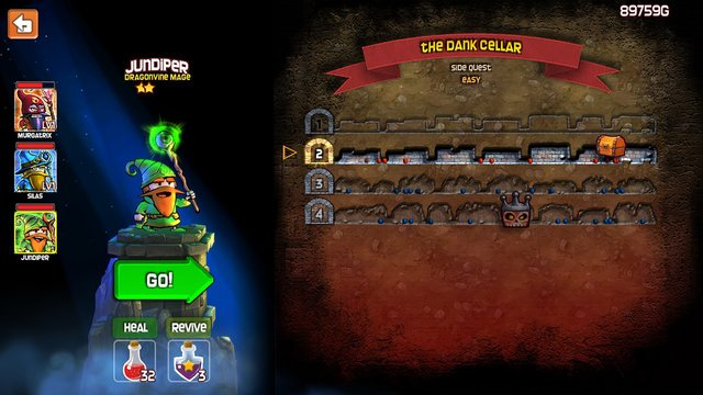 games similar to Dungeon Stars