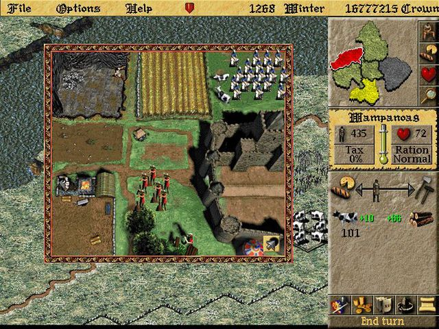 games similar to Lords of the Realm II