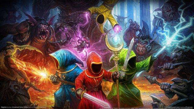 games similar to Magicka