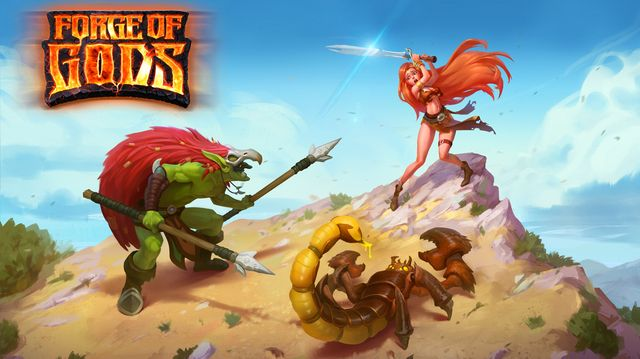 games similar to Forge of Gods (RPG)