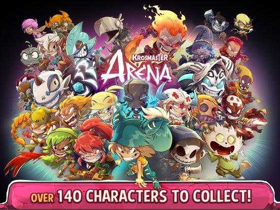games similar to Krosmaster Arena