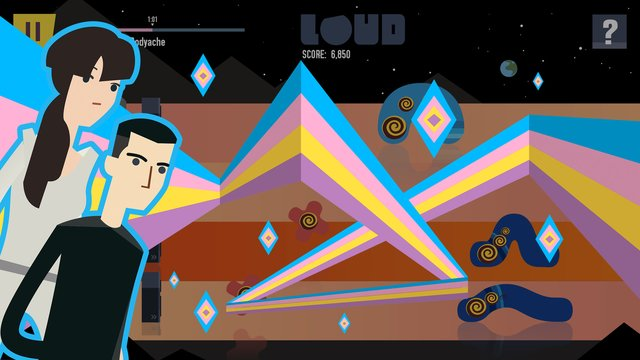 games similar to LOUD on Planet X