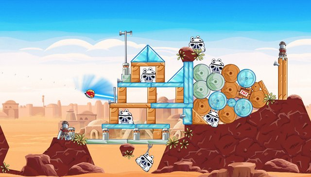 games similar to Angry Birds Star Wars