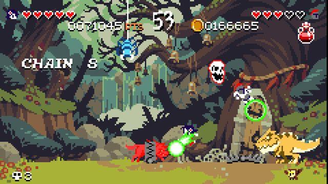 games similar to Curses 'N Chaos