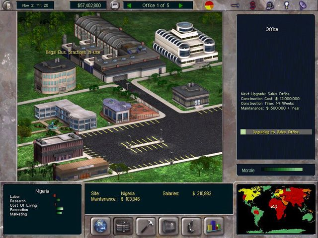 games similar to The Corporate Machine