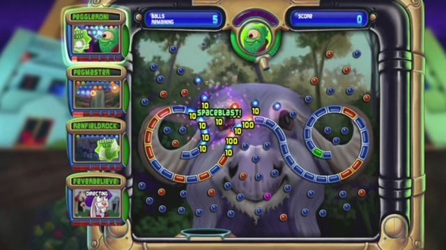 games similar to Peggle