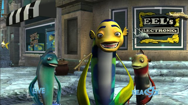 games similar to Shark Tale