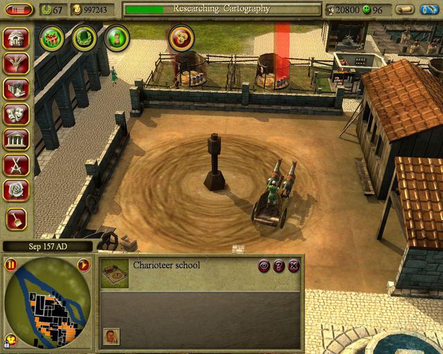 games similar to CivCity: Rome