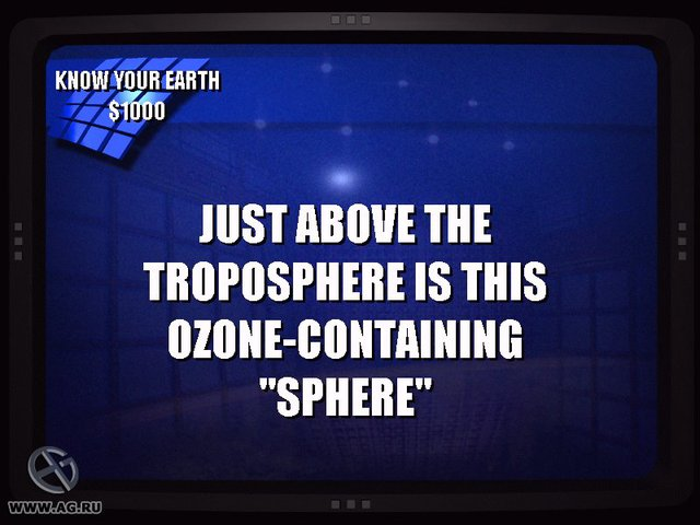 games similar to Jeopardy! 2003