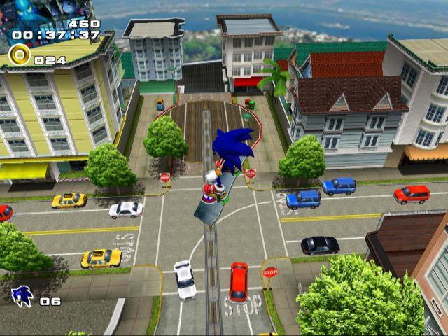 games similar to Sonic Adventure 2 Battle