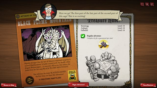 games similar to Card Hunter