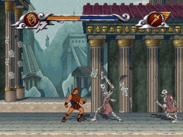 games similar to Disney's Hercules: The Action Game