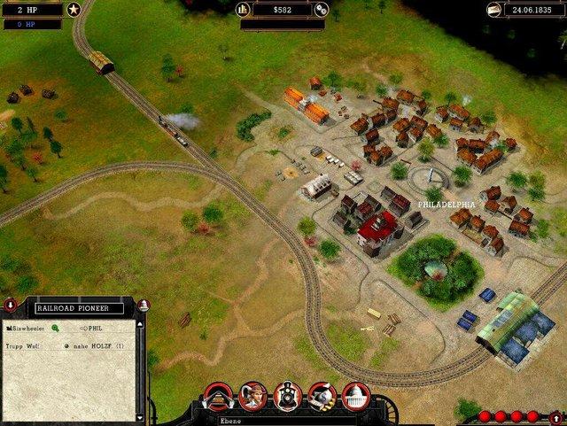 games similar to Railroad Pioneer