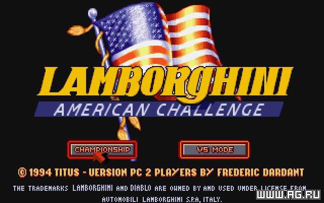 games similar to Lamborghini American Challenge