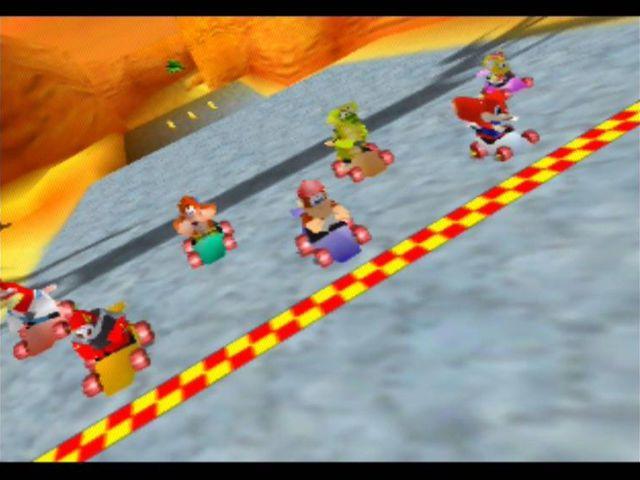 games similar to Diddy Kong Racing