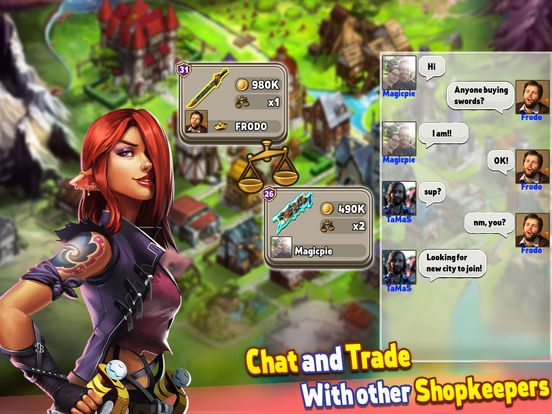 games similar to Shop Heroes