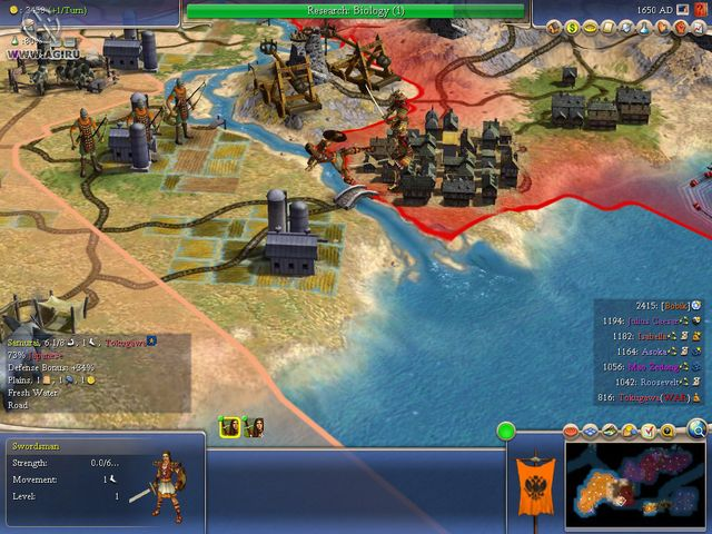 games similar to Sid Meier's Civilization IV