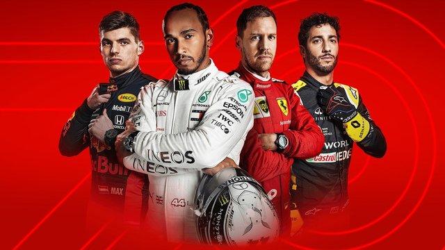games similar to F1 2020
