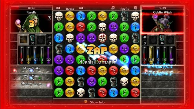 games similar to Puzzle Quest 2