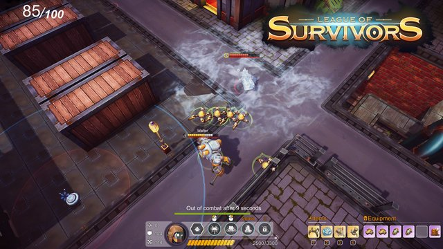 games similar to League of Survivors
