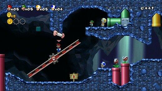 games similar to New Super Mario Bros. Wii