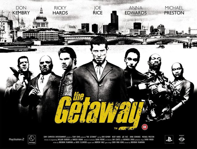 games similar to The Getaway