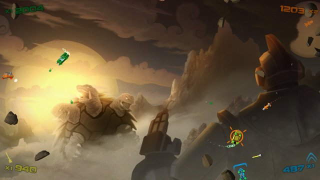 games similar to Hyperdrive Massacre