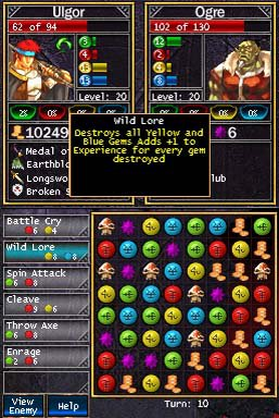 games similar to PuzzleQuest: Challenge of the Warlords