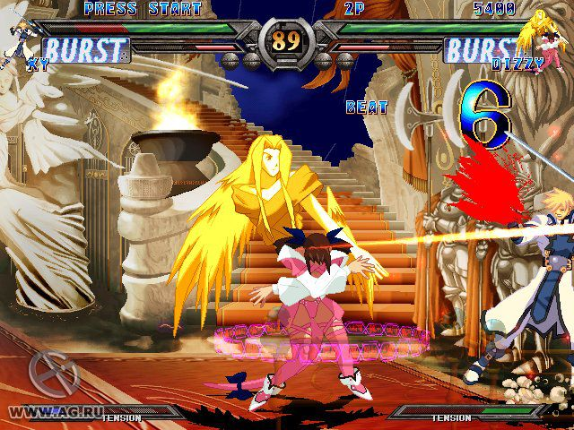 games similar to Guilty Gear XX #Reload