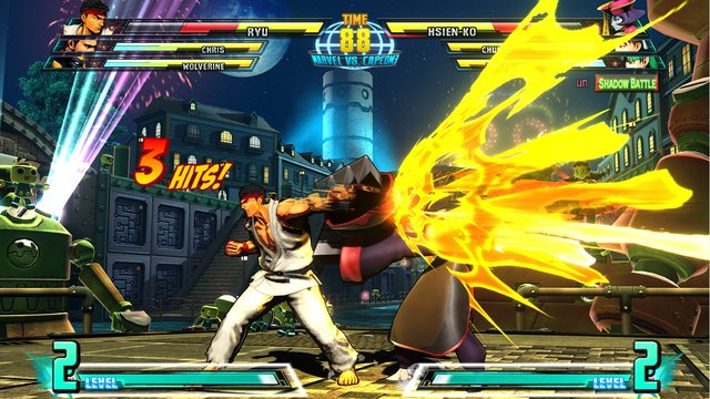games similar to Marvel vs. Capcom 3: Fate of Two Worlds