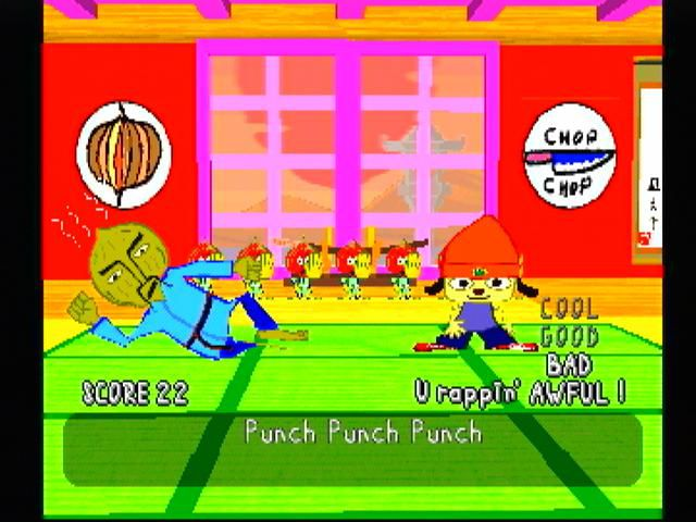 games similar to PaRappa the Rapper (1996)