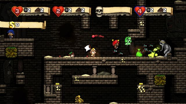 games similar to Spelunky
