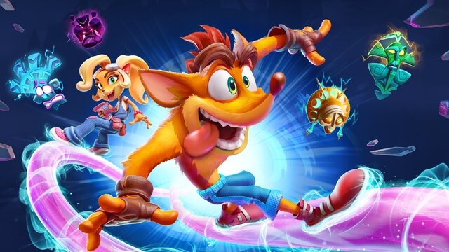 games similar to Crash Bandicoot 4: It's About Time