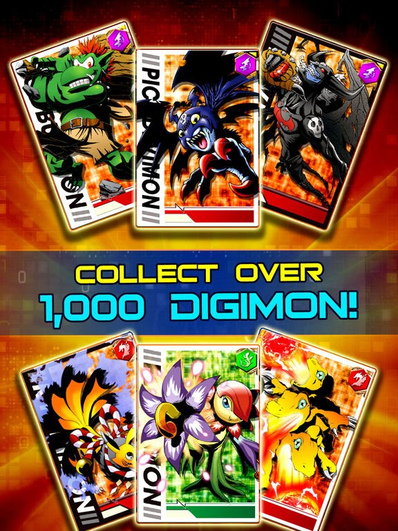 games similar to Digimon Heroes!