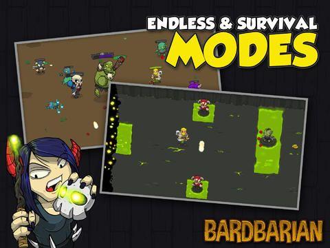 games similar to Bardbarian