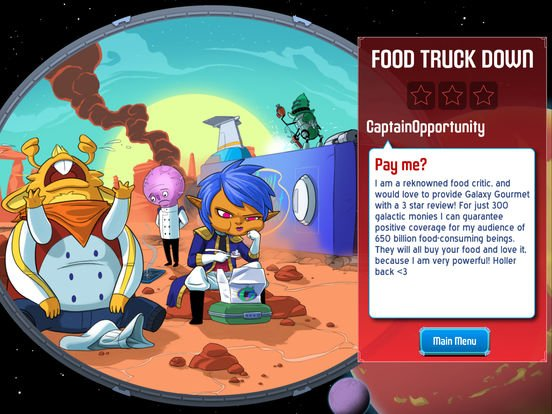 games similar to Space Food Truck