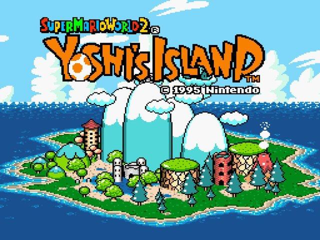 games similar to Super Mario World 2: Yoshi's Island
