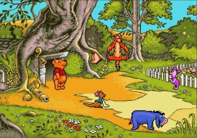 games similar to A Year At Pooh Corner