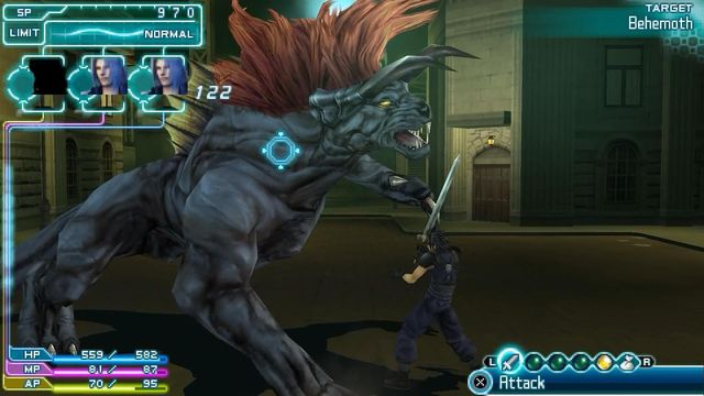 games similar to Crisis Core: Final Fantasy VII