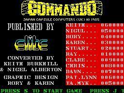 games similar to Commando