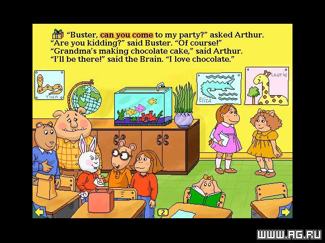 games similar to Arthur's Birthday