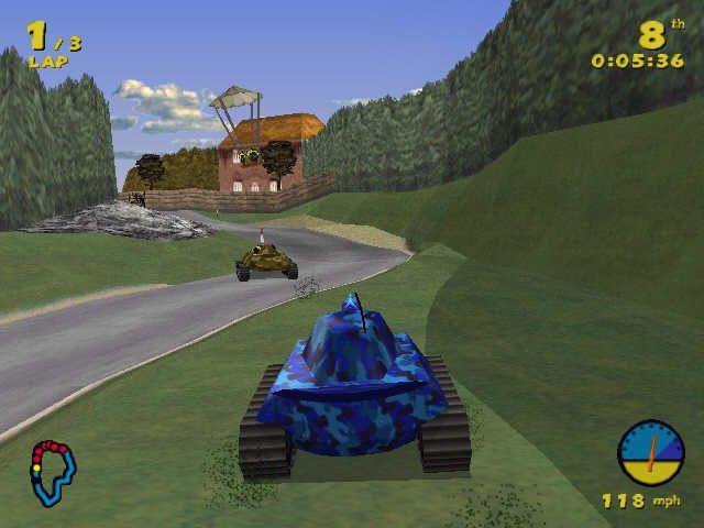 games similar to Tank Racer