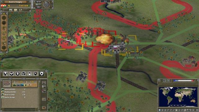 games similar to Supreme Ruler The Great War